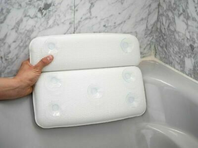 Spa Pillow Bath Pillow Luxury with Neck Shoulder Back Support & Suction Cup 2019