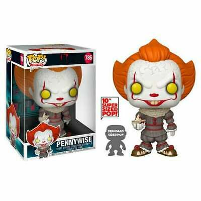 """Funko POP! Movies - IT: Chapter 2 #786 Pennywise with boat 10"""" Super Sized (RS)"""