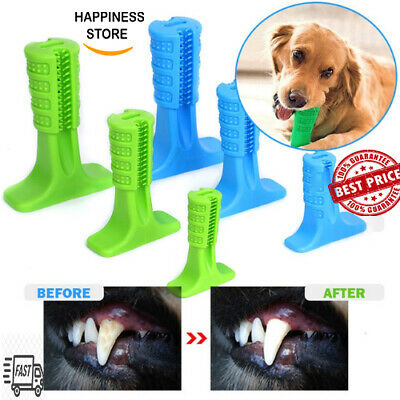 Doggie DIY Toothbrush Toy Clean Teeth Brushing Stick Pet Brush Mouth Chewing