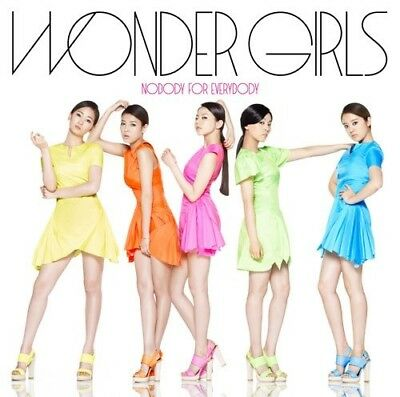 Wonder Girls-Nobody For Everybody-Japan Cd Bonus Track C75