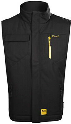 DBlade Workwear Mens Softshell Gilet Thermal Waterproof Bodywamer S XL XXL