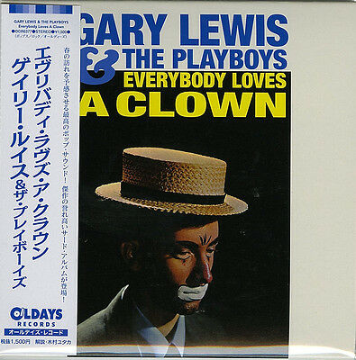Gary Lewis & The Playboys-Everybody Loves A...-Japan Mini Lp Cd Bonus Track C94