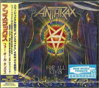 Anthrax-For All Kings-Japan Cd F56