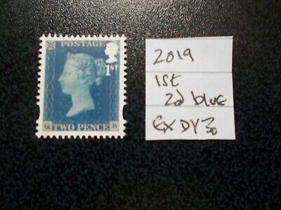 GB 2019~Security Machin~Victoria~ 1st~2d Blue~ex DY30~Unmounted Mint~UK