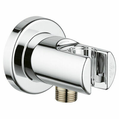 "28672000 1//2/"" NPT -FIP Starlight Chrome Grohe Wall Union"