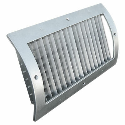 8X4 White Vent Cover (Steel)–Shoemaker RS34-SC Series