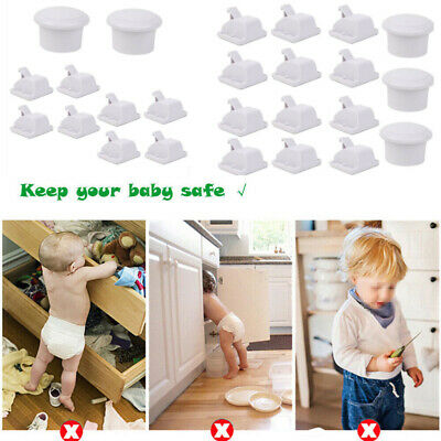 Magnetic Safety Invisible Cupboard Lock Child Baby Pet Safe Locks Catch Set