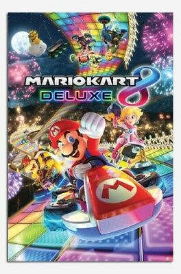 Mario Kart 8 Deluxe Affiche Neuf - Maxi Taille 91.4x61cm