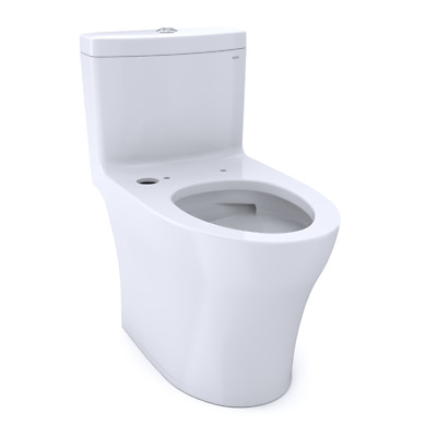 TOTO Aquia IV One-Piece Elongated Dual Flush 1.0 and 0.8 GPF Toilet with
