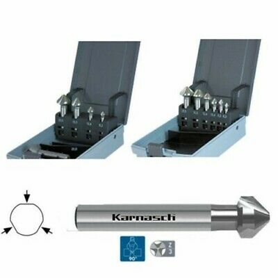 5er,6er Set Sinker Countersink Deburring 90°,Cbn ,Hss-Xe,DIN355,Ø 6,3 - 25mm