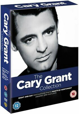 The Cary Grant Signature Collection 2011 DVD 4 Movie Box Set Region 2 New
