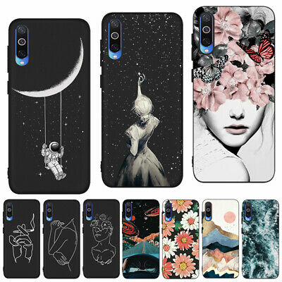 Patterned Matte Case Soft Silicone Phone Cover For Xiaomi Mi 9 9T Pro 8 A2 Lite
