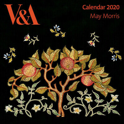 V&A - May Morris -  Art Wall Calendar 2020