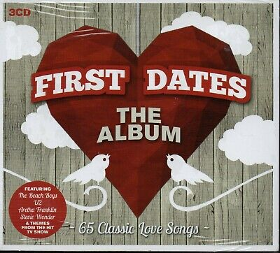 FIRST DATES: THE ALBUM - Various Artists - 3xCD Album *NEW & SEALED*