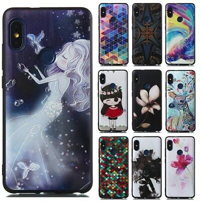 Soft Durable Shockproof Slim Matte Relief TPU Back Cover Case for Xiaomi Phone