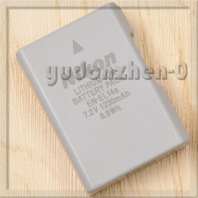 Genuine Original Nikon EN-EL14a EN-EL14 Battery For DF D5300 D5200 D5100 MH-24