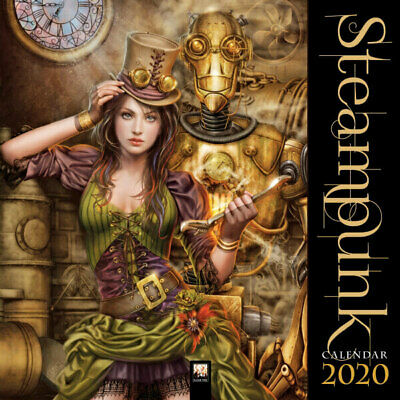 Steampunk -  Art Wall Calendar 2020