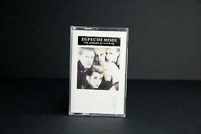 Depeche Mode The Singles 81-85/RARE/100% Play Tested/Turkish/Collectors/Cassette