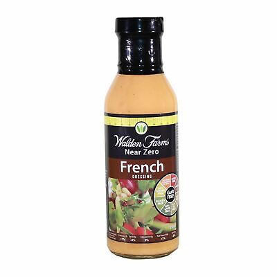 Reduced Walden Farms French Dressing Healthy Diet Low Calorie Salad Condiment
