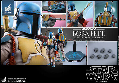 Hot Toys Star Wars Boba Fett Animation Version 1/6 Figure Sideshow Exclusive