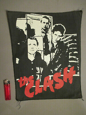The Clash Spingere - Toppa/Patch/Originale 80er Anni / Punk Rock / Band