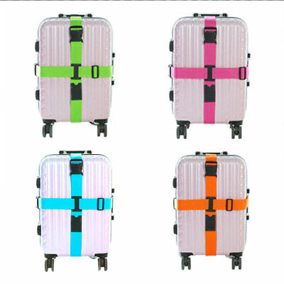 Durable Baggage Packing Belt Bag Bungee Security Luggage Straps Suitcases Travel