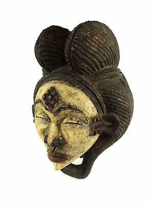 Punu Maiden Spirit Mask Mukudji Gabon African Art SALE WAS $210.00