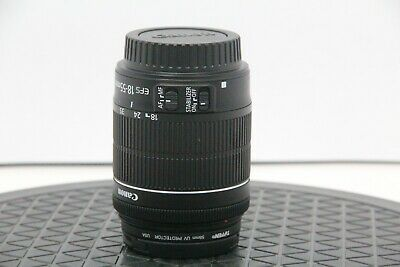 CANON EF-S 18-55mm IS Lens Macro 0.25m/0.8ft w/UV Protector - Free Shipping