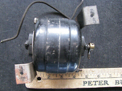 ANTIQUE CABLE/PIPE LOCATOR TRANSMITTER Rotary Spark Gap w 6v ROBBINS MYERS MOTOR