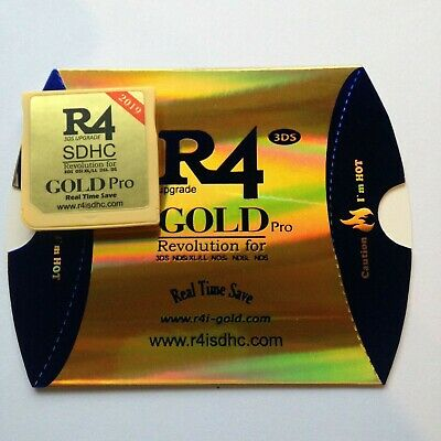 R4 GOLD PRO 2019 works on all models and firmware