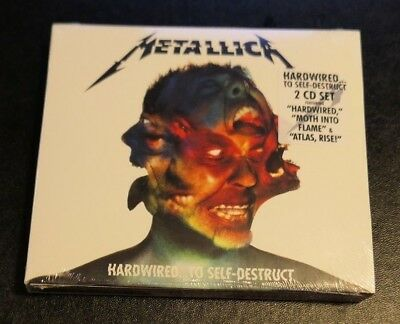 Hardwired...To Self-Destruct [Digipak] by Metallica (CD, 2016, 2 Discs) SEALED