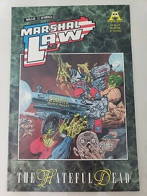 Marshal Law The Hateful Dead Prestige Format Graphic Novel 1991 Apocalypse Comic