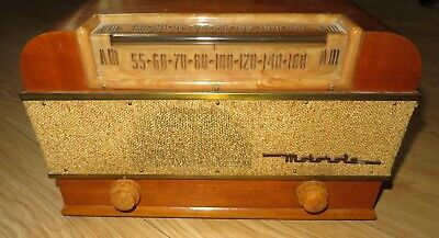 vintage 1948 1949 Motorola Tube Radio Model 77XM22  Works perfect! AM FM