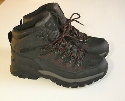 b68d24af6fd WENGER SWISS ARMY Hiking Boots Mens Size 7.5 Leather Work Lace Shoes ...