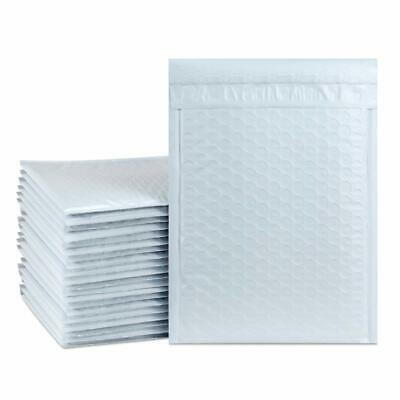 Poly Bubble Mailer Shipping Mailing Bag Envelopes White(Available in Many Sizes)