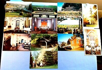 Postcards - Tourist Destinations - Eastern States - Set Of 12 In Great Condition