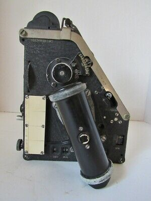 Vintage Bubble Sextant With Original Mounting Case