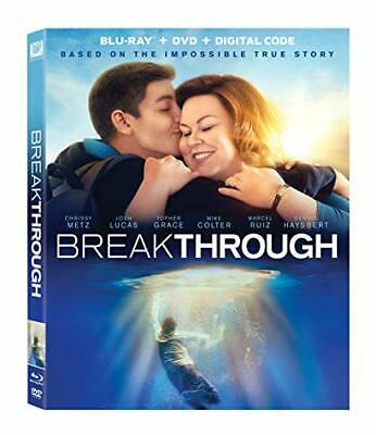 Breakthrough + DVD + Digital HD Dawson Roxann Metz, Chrissy PG Drama Blu-ray NEW