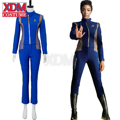 Star Trek Discovery Cadet Sylvia Tilly Cosplay Costume Woman Crewman Uniform