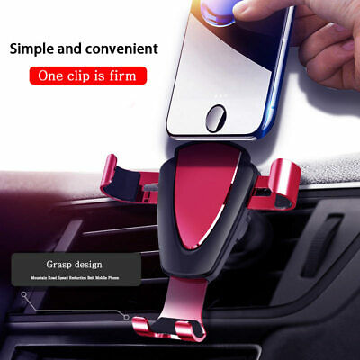 Universal Car Air Vent Mount Cradle Holder Stand Bracket for Mobile Cell Phone