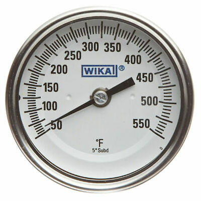 WIKA TI.52 Stainless Steel 304 Process Grade  Bi-Metal Thermometer