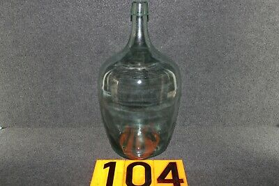 Alter Glasballon Weinballon  Transparent  Ca 5 Liter Nr 104