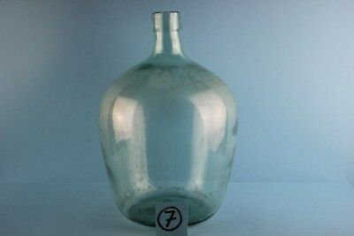 Alter Glasballon Weinballon Transparent Ca 5 Liter Nr 7