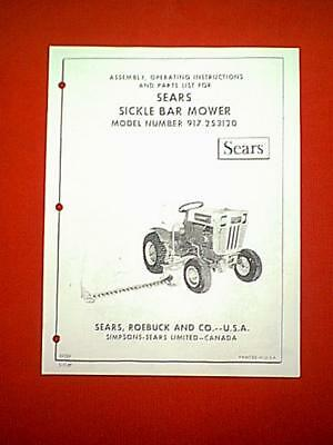 JARI CHIEF SICKLE Bar Mower Parts Manual - $5 00 | PicClick
