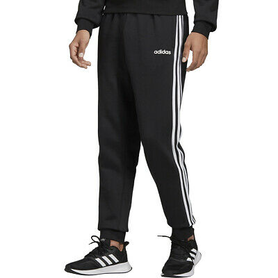 Adidas Pantalone Uomo Essentials 3-Stripes Tapered Cuffed Nero Taglia XL Cod DQ3