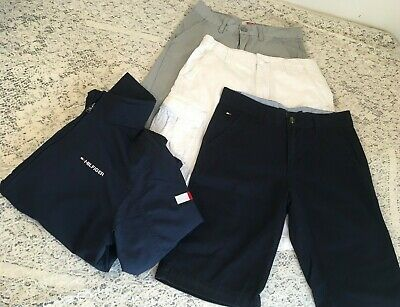 Tommy Hilfiger boys Jacket Water Resistant Zip Up Shorts Cotton 12 14 M Lot of 4