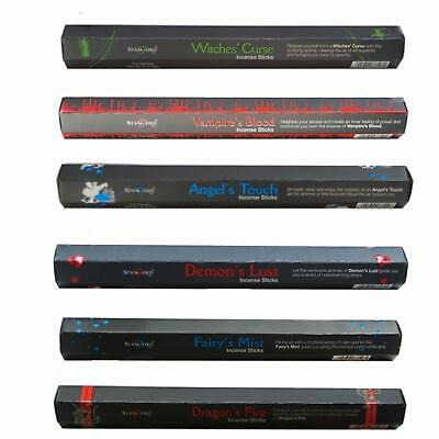 Pack Of 15 Stamford Black Incense Sticks, Free Uk P&P, Many Scents Available