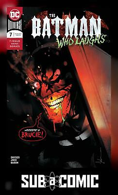 BATMAN WHO LAUGHS #7 (DC 2019 1st Print) COMIC