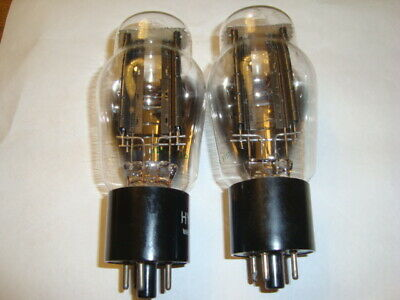 One Matched Pair of 5U4G Tubes, Desirable Hytron Brand, NOS