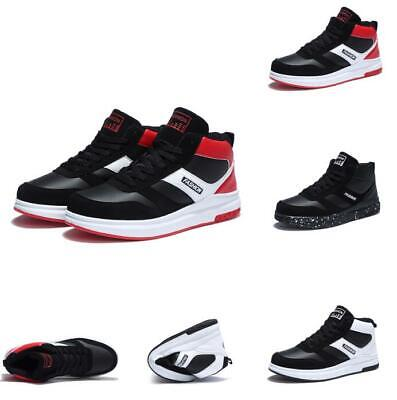 Fashion Mens Sneakers Leisure Breathable Athletic Sport High Top Running Shoes